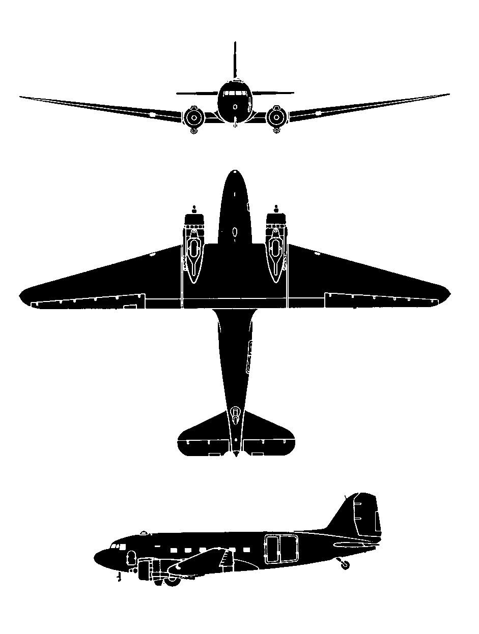 Dc 3 Nc16002 Airborne Transport The Quester Files