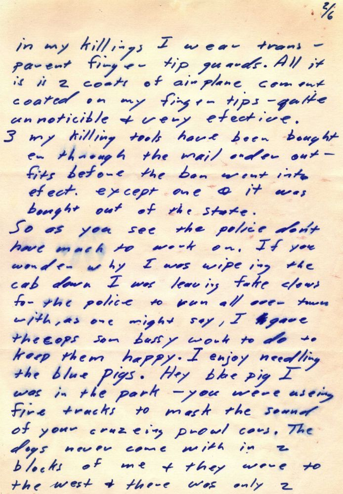 zodiac killer analysis Praying on the unsuspecting, the zodiac killer claimed at least 5 lives in   agencies called on the fbi's expertise in handwriting analysis, cryptanalysis, and .