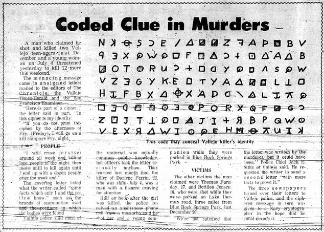 zodiac killer essays Heriberto eddie seda (born july 31, 1967) is an american serial killer who  struck new york city from 1990 to 1993 before being caught on june 18, 1996,  seda killed three people and wounded five others (four critically) seda is  believed to have admired san francisco's zodiac killer for avoiding.
